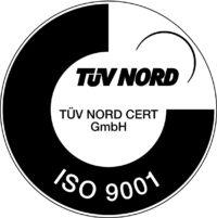 TÜV Siegel - ISO 9001