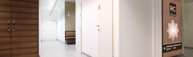 Die Ordinationsräume des Radiology Centers